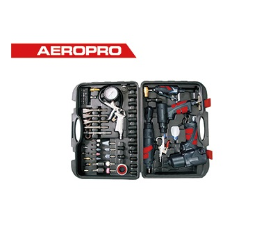 Bộ dụng cụ đồ nghề bắn ốc, mài khuôn, đục và siết hơi AEROPRO AP7857-A