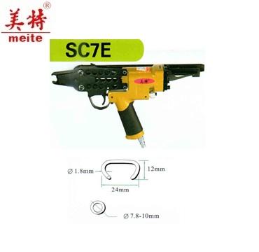 Máy bắn đinh C đầu dài dùng hơi MEITE SC7E