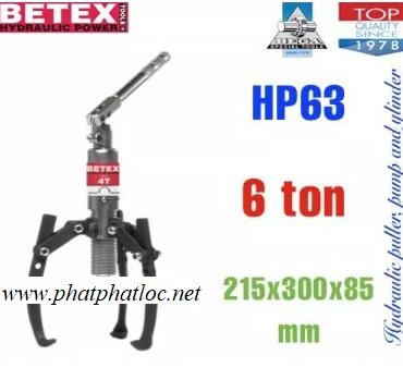 Cảo thủy lực 6 tấn BETEX - HP63, 792000, BETEX - Hà Lan