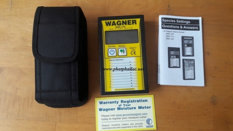Máy đo độ ẩm gỗ WAGNER MMC-220