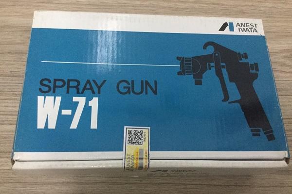 Một số mẹo nhỏ phân biệt súng phun sơn Anest Iwata chính hãng và hàng giả
