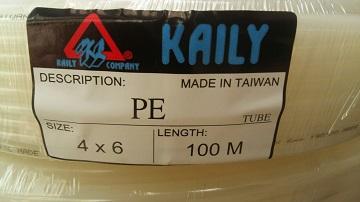 Ống dẫn sơn PE KAILY 4x6mm