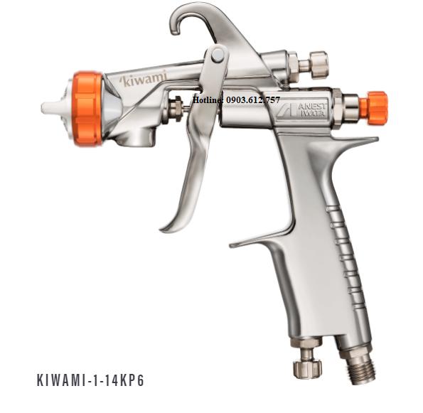 Súng bắn bóng ô tô Anest Iwata Kiwami-1-14KP6. Súng là model thay thế cho W-101-146KPGC