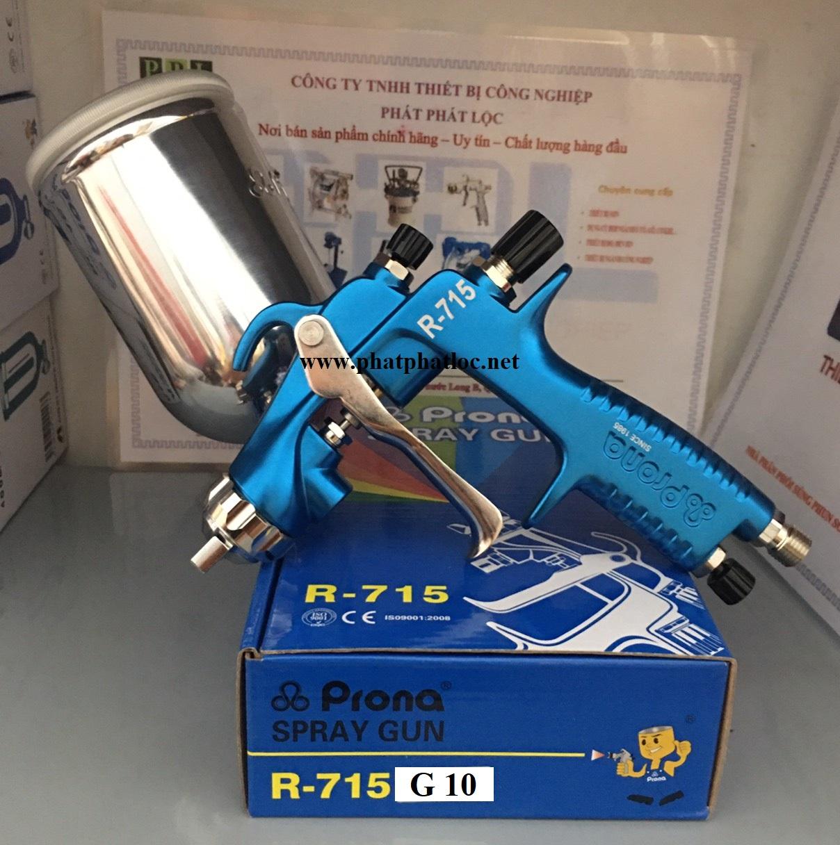 Súng phun sơn PRONA R715-G10