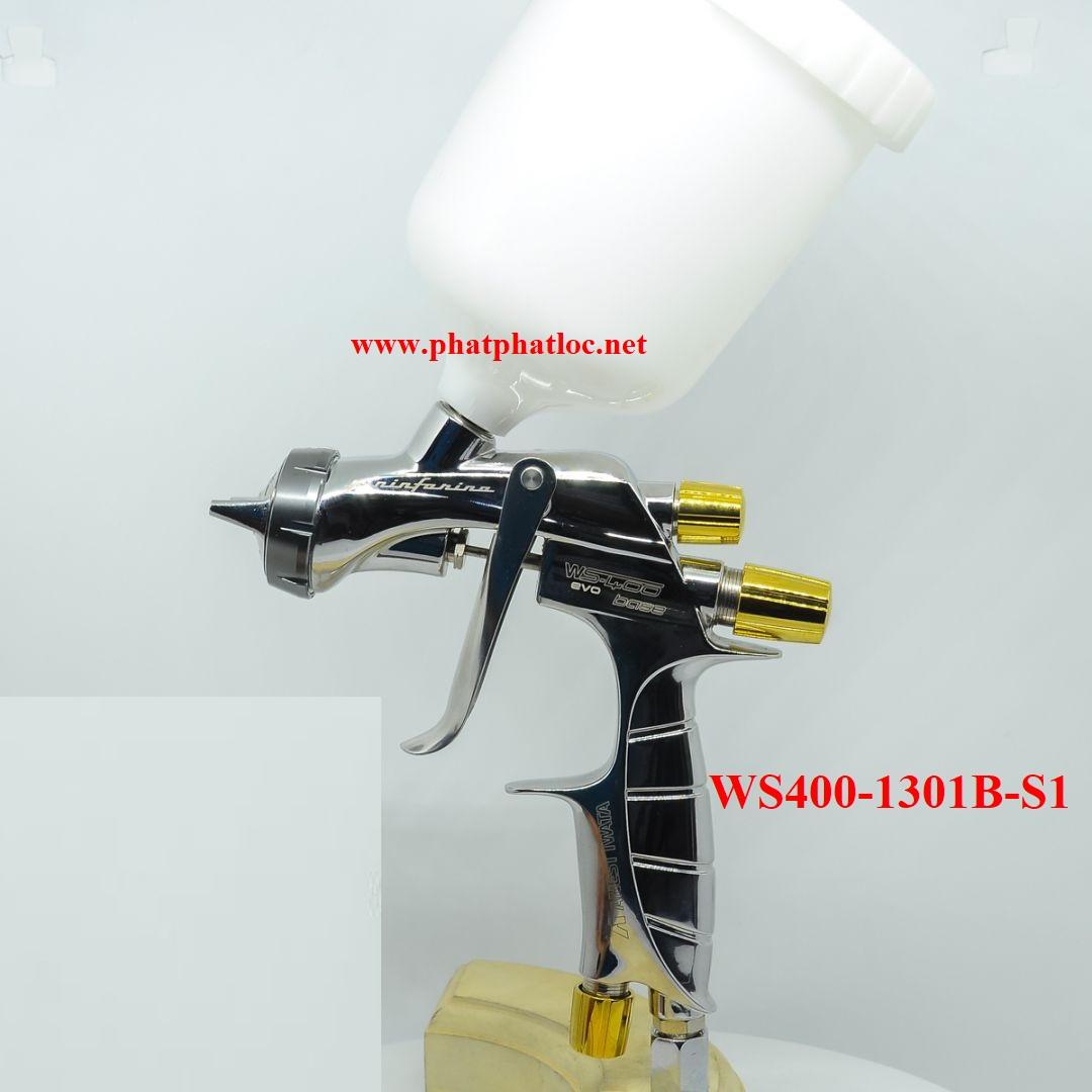 Súng phun sơn siêu cấp Anest iwata SUPERNOVA WS400-1301B-S1