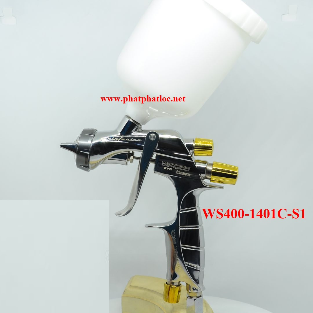 Súng phun sơn siêu cấp Anest iwata SUPERNOVA WS400-1401C-S1