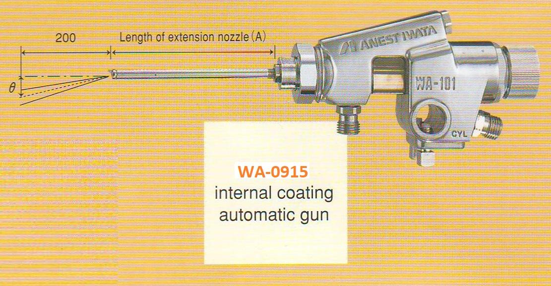 Súng phun sơn tự động Anest IWATA WA-0915