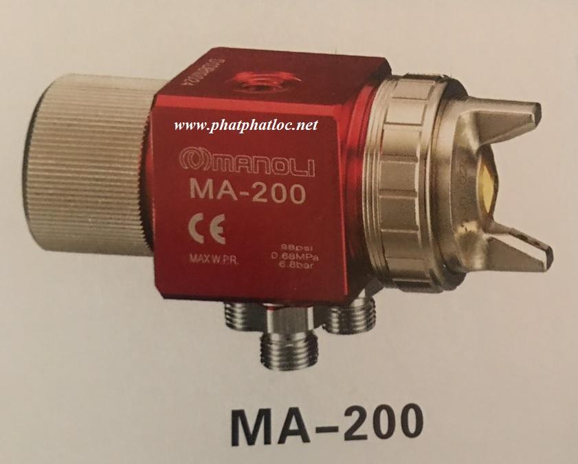 Súng phun sơn tự động MANOLI MA-200-122P