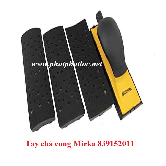 Tay chà cong nhám Mirka 839152011